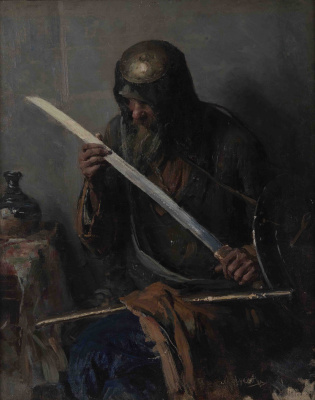 Abram Arkhipov. Warrior