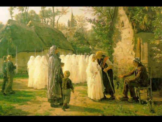Jules Breton. The authors