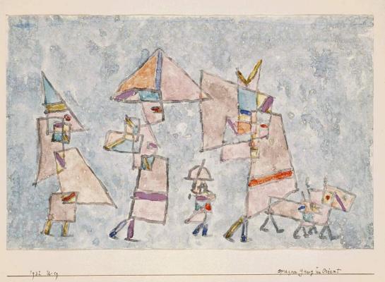 Paul Klee. Promenade in the East
