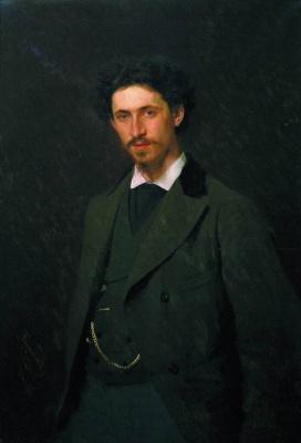 Ivan Nikolayevich Kramskoy. Portrait of the artist Ilya Repin