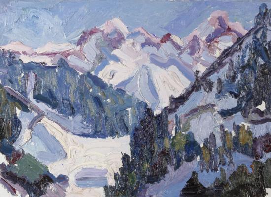 Жанатай Шарденов. Зима в горах