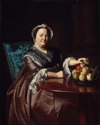 John Singleton Copley. Mrs. Ezekiel Goldthwait (Elizabeth Lewis)