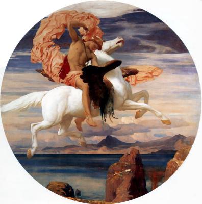 Frederic Leighton. Perseus saves Andromeda