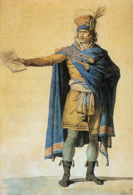 Jacques-Louis David. The representative of the interests of the people