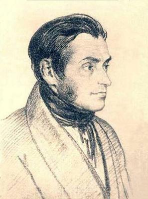 Orest Adamovich Kiprensky. Portrait of Adam Mitskevich