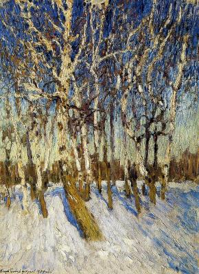 Igor Grabar. Winter sun