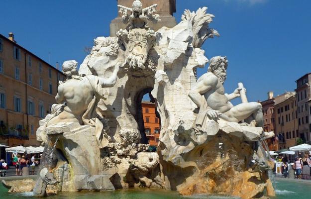 Gian Lorenzo Bernini. Fountain of the Four rivers