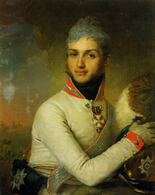 Vladimir Borovikovsky. Portrait of Prince Nikolai Grigoryevich Repnin-Volkonsky