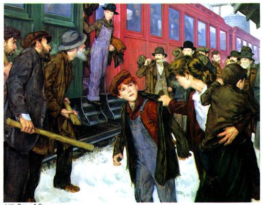 Ричард Уильямс. Поезд