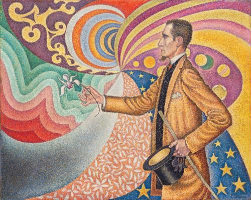 Paul Signac. Portrait Of Felix Feneon