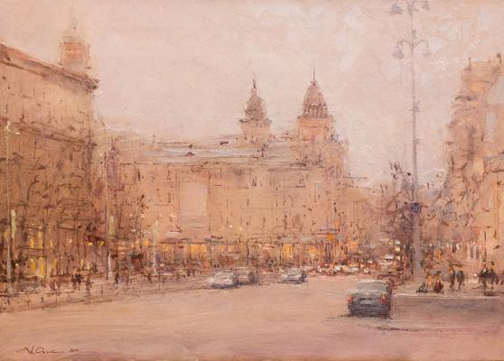 Andrew Hooke. Kyiv, Khreshchatyk