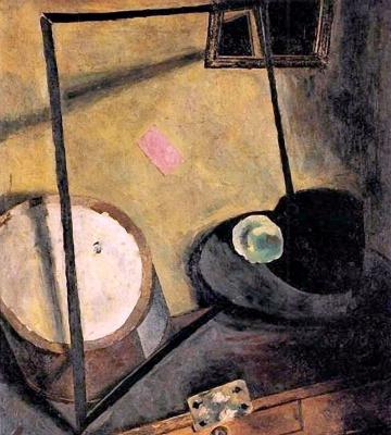 Иван Альбертович (Жан) Пуни. «Натюрморт с цилиндром» 1917