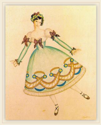 Эдмунд Дюлак. Балерина