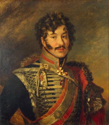George Dow. Portrait of Sergey Nikolaevich Lansky
