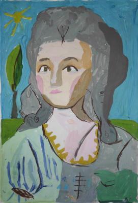 Ева Ярмолюк. Портрет Дамы