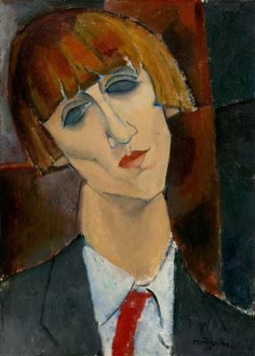 Амедео Модильяни. Портрет мадам Кислинг