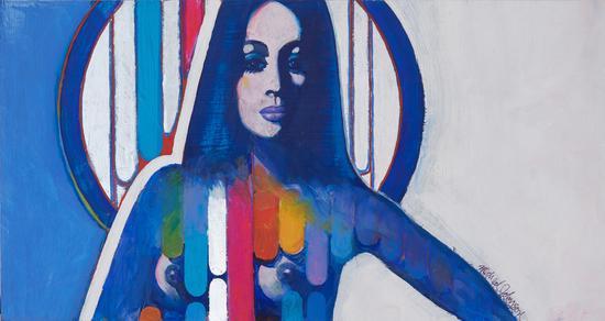Michael Johnson. Rainbow Woman