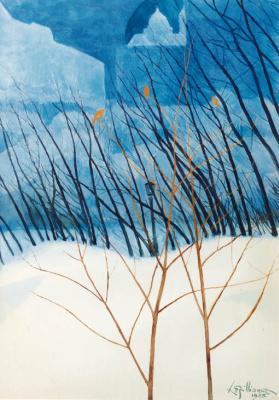 A Snowy Dream Landscape, 1923
