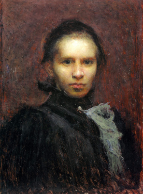 Ivan Ivanovich Trush. Portrait of Lesia Ukrainka