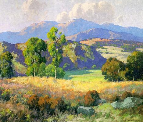 Морис Браун. Пейзаж