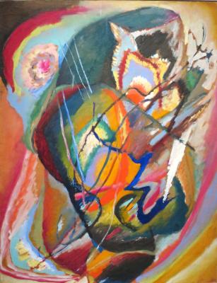 Wassily Kandinsky. Improvisation III