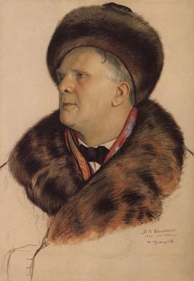 Портрет Ф.И. Шаляпина