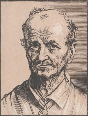 Jan Lievens. Portrait of a man