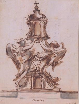 Gian Lorenzo Bernini. The monstrance