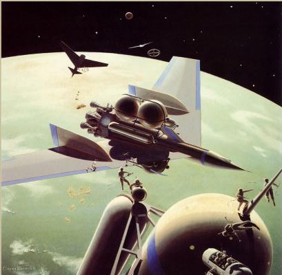 Чесли Бонестелл. Космические истории