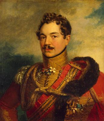 George Dow. Portrait of Vasily Vasilyevich Levashov