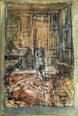 Alberto Giacometti. Portrait of the artist's mother