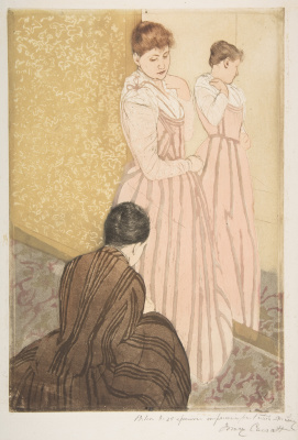 Mary Cassatt. Fitting