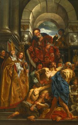 Jacob Jordaens. St. Martin Heals the Possessed