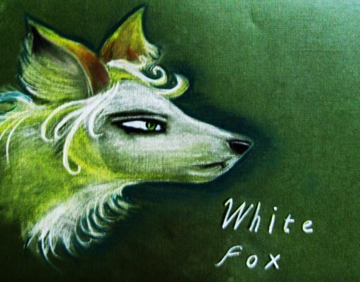 Anastasia. White fox