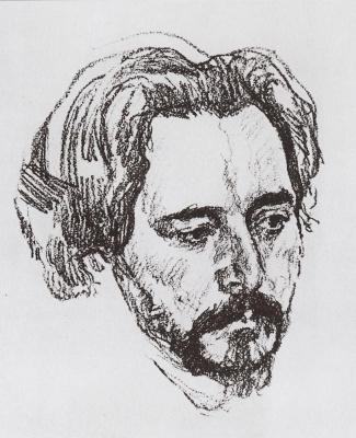 Valentin Aleksandrovich Serov. Portrait Of L. N. Andreeva
