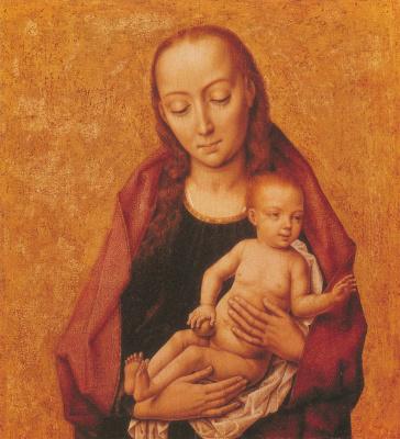 Мадонна с младенцем. ок.1455-1460