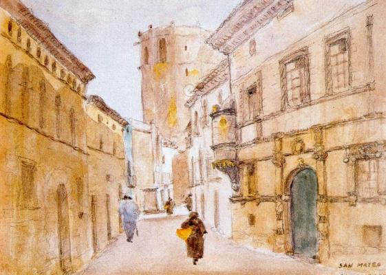 Томас Кампусано Агирре. Длинная улица