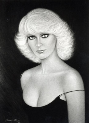 Рикардо Асенсио. Портрет блондинки