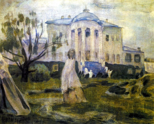 Victor Elpidiforovich Borisov-Musatov. Ghosts