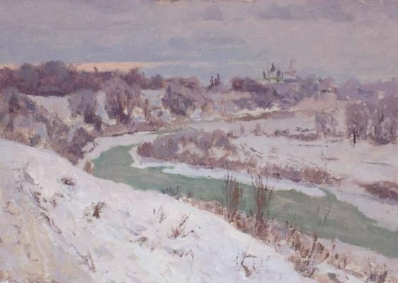 Igor Igorevich Krieger. View of Suzdal