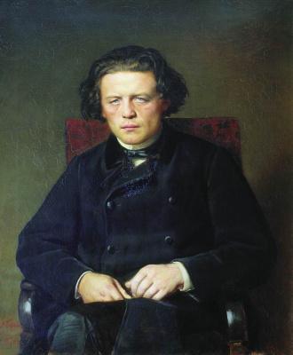 Vasily Grigorievich Perov. Portrait Of Anton Grigoryevich Rubinstein