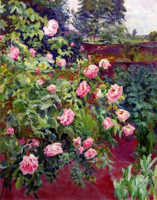 Алексей (Олекса) Новаковский. Rose bush