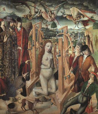 Фернандо Гальего. Мученичество святой Екатерины