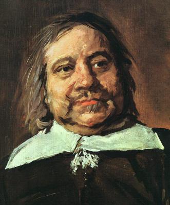 France Hals. Portrait Of Willem Kroys. Fragment
