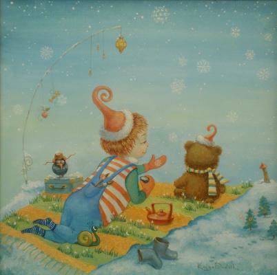 Екатерина Дудник. Снежинка на ладошке
