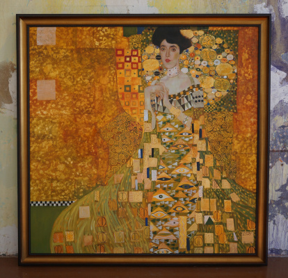 G.Klimt. Adele. A full-size copy of D. Gorolevich