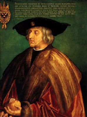 Albrecht Durer. Portrait of the Emperor Максимилиана1