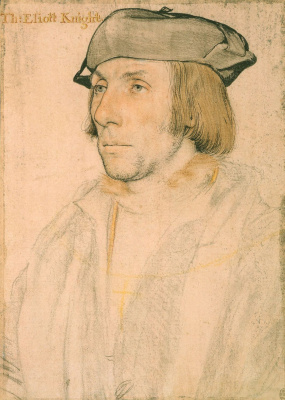 Hans Holbein The Younger. Sir Thomas Eliot