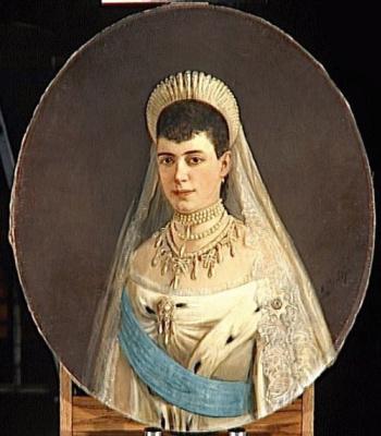 Николай Густавович Шильдер. Императрица Мария Фёдоровна