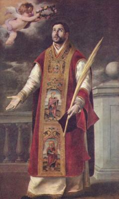 Bartolomé Esteban Murillo. SV. Rodriguez